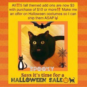 🐈⬛Halloween Sale🐈⬛‼️$5 add on fall/Halloween earrings are $3 w/$10+ purchase